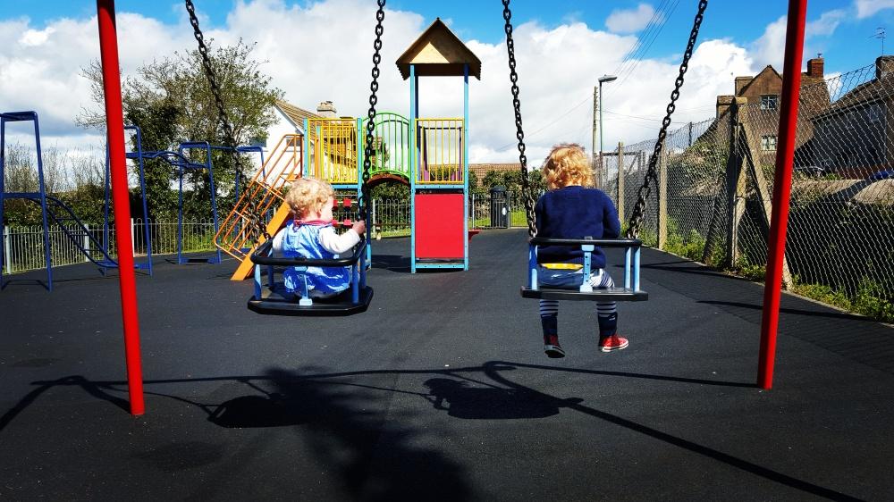 Kids on swings-2