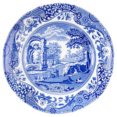 Spode Blue Italian Tea Plate, £7, John Lewis
